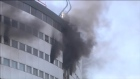 Fire forces France's public radio off air