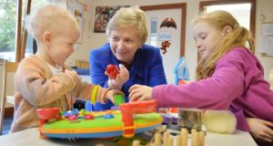 """I kind of do the work as opposed to saying what I want to be."" Frances Fitzgerald, Minister for Justice, visiting the Learning for Life centre in Esker Hill, Lucan. Photograph: Alan Betson"