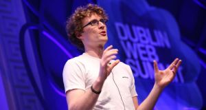 Dublin Web Summit's Paddy Cosgrave