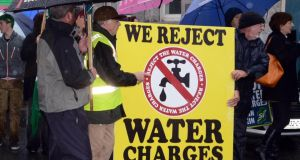 Protests took place in Bandon, Clonakily, Fermoy, Mallow and Youghal today in Co Cork.