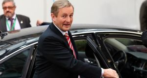 Taoiseach Enda Kenny has said it would  take a four-point rise in the top rate of income tax to cover the loss of revenues if water charges were scrapped. Photograph: Getty