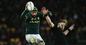 "Victor Matfield on Paul O'Connell: """"You can see he puts in a lot of hours in analysing, preparing and getting his whole unit ready for the weekend. So it is always tough going up against him."" Photograph: Hannah Peters/Getty Images"