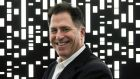 Michael Dell, founder and CEO of Dell Inc. The tech giant is moving from exclusively hardware  to include cloud products.  Photograph: Damon Winter/The New York Times