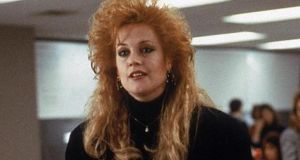 Melanie Griffith as Tess McGill in Working Girl