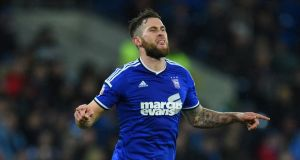Ipswich player Daryl Murphy has scored 10 goals already this season after another brace against Wolves on Tuesday night.  Photograph:  Stu Forster/Getty Images
