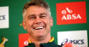 South Africa head coach  Heyneke Meyer. Photograph: James Crombie / Inpho