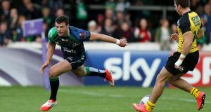 Connacht's Robbie Henshaw set to start in the centre for Ireland against Springboks. Photograph: Ryan Byrne / Inpho