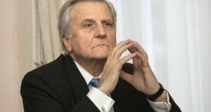 "Former European Central Bank president Jean-Claude Trichet:  the letter to former finance minister Brian Lenihan – marked ""secret"" – was sent on November 19th, 2010. Photograph: Dara Mac Dónaill"