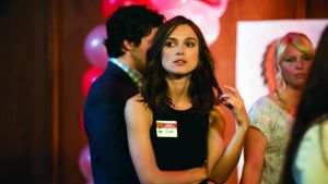 Laggy edge: Keira Knightley in Say When