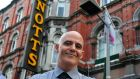 A store star is born: Conor Pope goes to work in Arnotts for the day. Photograph: Aidan Crawley