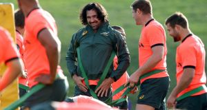 Victor Matfield: one of the best lineout operators the world has ever seen. Photograph:Billy Stickland/Inpho