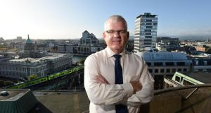 Bill Kyle, chief executive of Irish Life: the launch of a new enhanced annuity is a highlight in the quarter. Photograph: Dara Mac Dónaill /The Irish Times