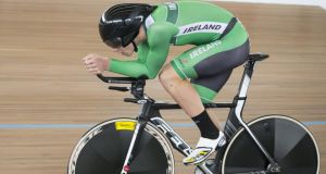 Former world scratch race champion Martyn Irvine is competing in Mexico. Photograph:  Guy Swarbrick/Inpho