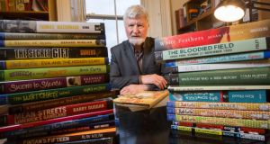Michael O'Brien: 'We decided to create a new literature for Irish children that didn't exist. The area was dominated by the British, to the extent that they were reinventing Irish culture with very corny Oirish things, while Irish writers, in order to get published, were becoming Anglophile.' Photograph: Fergal Phillips