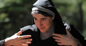 Spanish nun Teresa Forcades, who has become an increasingly prominent European intellectual. Photograph: Lluis Gene/AFP/Getty Images