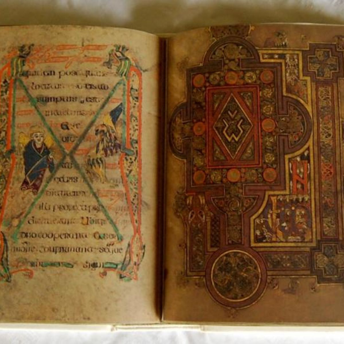 The Book of Kells - The Library of Trinity College Dublin