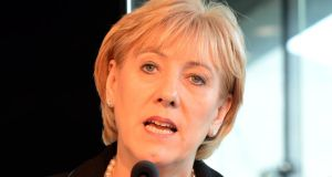 Minister Heather Humphreys: expressed concern at how the Data Protection Commissioner handled the issue relating to her department's genealogy site. Photograph: Eric Luke
