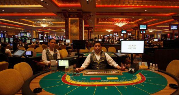 Macau's casino industry sees record revenue drop in October