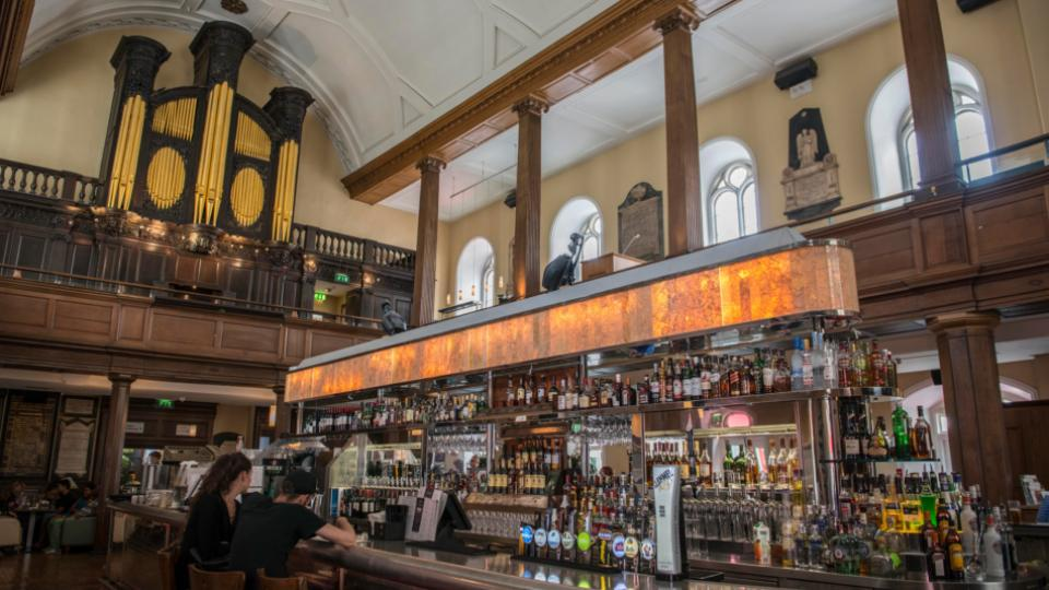Irish owner to retain church bar and cafe following for Food bar on church