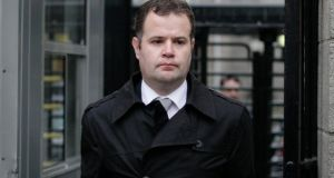 Detective Garda Robert Reilly was awarder €70,000 damages following a Garda compensation hearing in the High Court. Photograph: Courts Collins