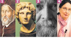 Spot the philosopher: who is the great thinker? Answer at the end of the piece