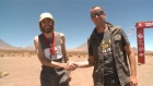 On top of the world, almost, as Ireland's Gary Thornton takes first place at the second Volcano Marathon in the Atacama Desert, Chile. Video: Reuters