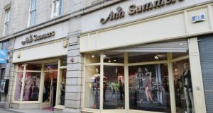 The facade of Ann Summers on O'Connell Street. Photograph: Alan Betson