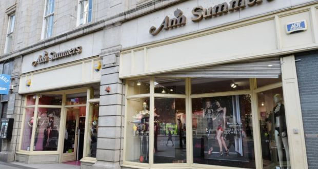 15 years of ann summers has the sky fallen in the facade of ann summers on oconnell street photograph alan betson solutioingenieria Gallery