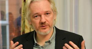 WikiLeaks founder: Julian Assange. Photograph: John Stillwell/AFP/Getty