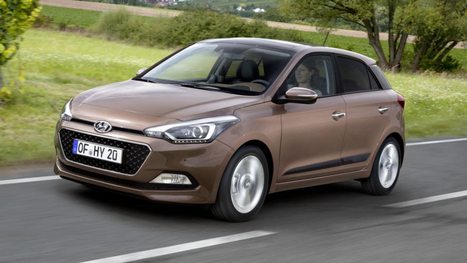 First Drive Hyundai Thinks Big With I20 Supermini
