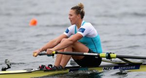 Single sculler Emma Twigg who was honoured at the 2014 World Rowing Awards which were presented at the recent Fisa World Coaches Conference in Rio de Janeiro.