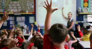 "Half of primary schools requested a ""voluntary"" contribution from parents, and the amount sought has risen considerably this year. Photograph: Dave Thompson/PA Wire"
