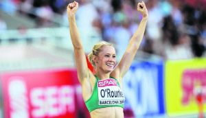 Derval O'Rourke: Without the right lifestyle of eating well and sleeping well she knew she was going to keep coming in in seventh place.  Photograph: ©INPHO/Morgan Treacy