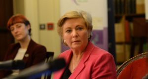 Minister for Justice Frances Fitzgerald has denied that the Government's selection of the chair designate of the new Policing Authority followed a non-transparent process. Photograph: Dara Mac Dónaill/The Irish Times.