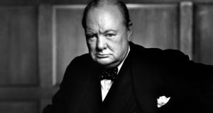 "Winston Churchill:  "" I still hope for a united Ireland. You must get those fellows in the North in, though; you can't do it by force."""