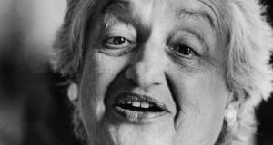 Betty Friedan: 'It is, perhaps, beside the point to remark that bowling alleys and supermarkets have nursery facilities, while schools and colleges and scientific laboratories and government offices do not, ' she wrote in The Feminine Mystique. Photograph: Frank Miller/The Irish Times