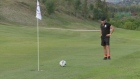 A cross between football and golf proves a hit in Spain as Dutchman Bjorn Bulk wins the Europa Cup tournament. Video: Reuters