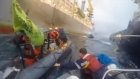 Two Greenpeace activists protesting against Repsol's plan to drill for oil off the coast of the Canary Islands are injured as Spanish Navy boats ram into the boats crewed by the activists. Video: Reuters
