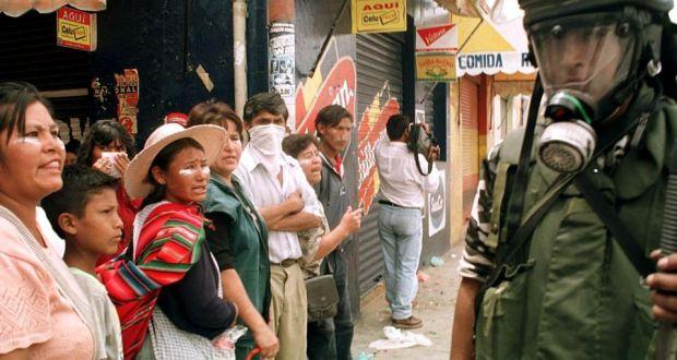 bolivia ace war a