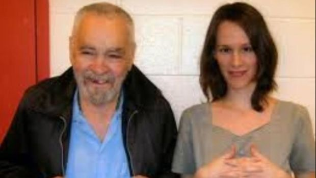 Charles Manson and Afton Elaine Burton: granted licence to marry in prison. Photograph: tmz.com