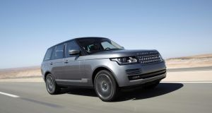 Best pick for luxury car: Range Rover