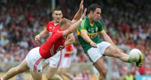 Declan O'Sullivan will continue his club career but says it would be impossible to play on for Kerry. Photograph: Lorraine O'Sullivan/Inpho