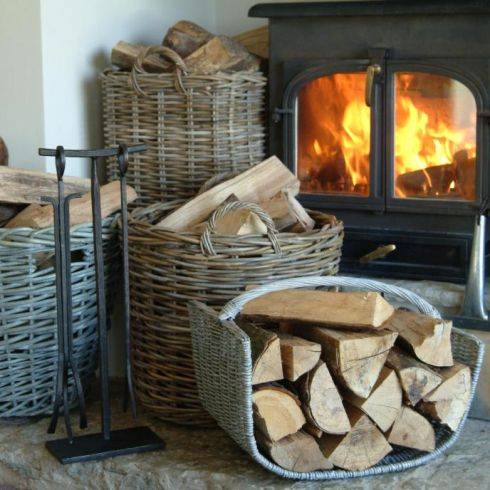 fireplace firewood accessories