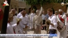 On the second of his three day trip to Oman, Britain's Prince Harry visited Muttrah Souq and indulged in a traditional sword dance. Video: Reuters
