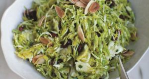 Neven Maguire's brussels sprout and dried cranberry salad