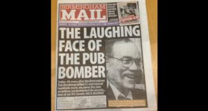 The front page of the Birmingham Mail today.