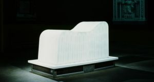 Alice Maher's Mnemosyne: a couch made from ice