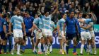 Argentina surprised Les Bleus, who headed into tonight's game having beaten Australia last weekend, winning 18-13 at the Stade de France