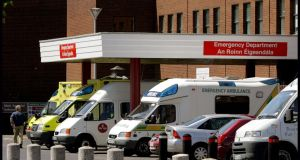 Accident and Emergency Department at Beaumont Hospital. Photograph: David Sleator.