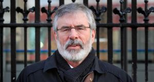 Sinn Féin president Gerry Adams has been criticised for comments in which he referred to unionists as 'bastards'. Photograph: Gareth Chaney/Collins.